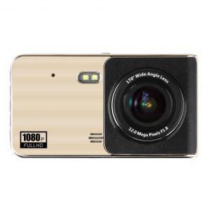 "4"" IPS Touch Screen Dash Cam Dual Lens Full HD 1080P"