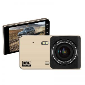 "4"" IPS Touch Screen Dash Cam Dual Lens Full HD 1080P"