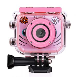 Kids Camera 1080P HD Rechargeable Action Camcorder